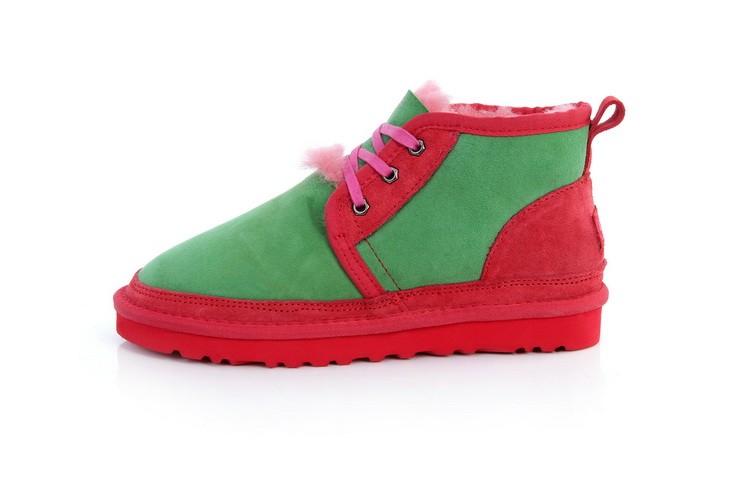 61d383a115c UGG Women Neumel Colorful 3236 Slippers Green [uggzm00000059-Green ...