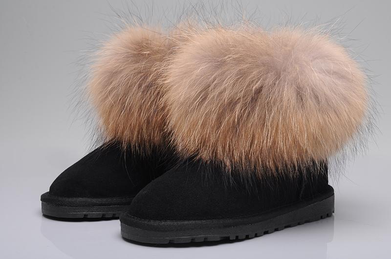 cheap fox fur uggs