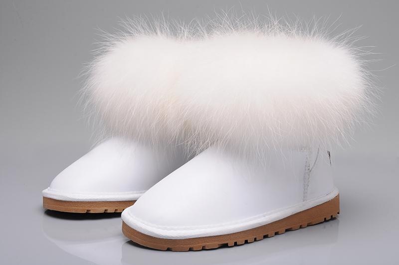 52f95ca55ae UGG Fox Fur Mini Boots 5854 White [uggyi00000034-White] - CA$170.14 ...