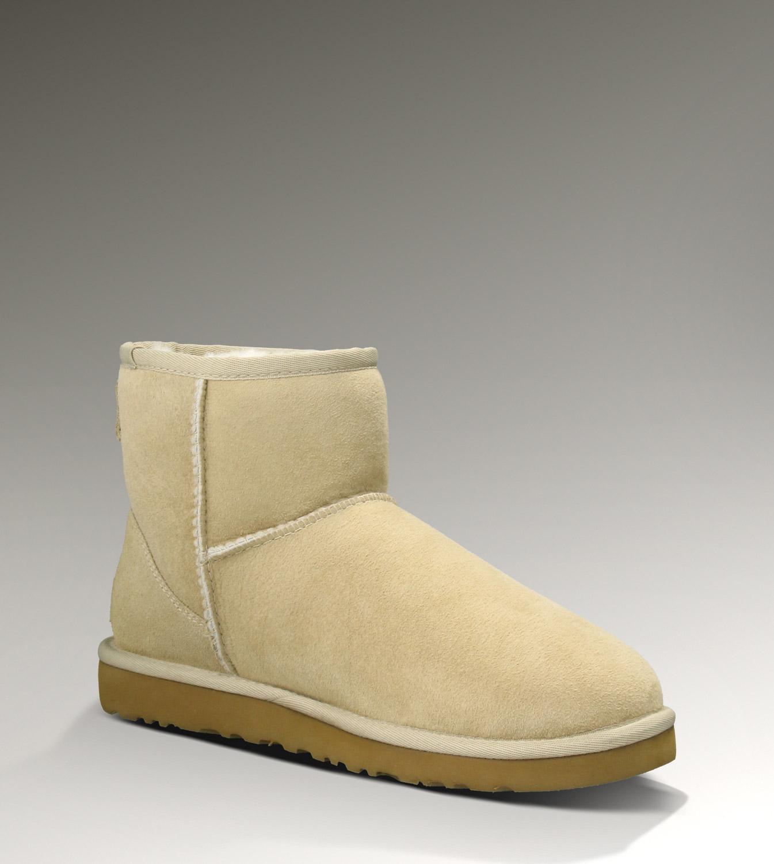 ugg classic mini boots 5854 sand uggzm00000030 sand ca. Black Bedroom Furniture Sets. Home Design Ideas