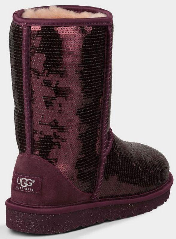 40706d2b3ef UGG Women Classic Short Sparkles 3161 Boots Wine Red [uggzm00000071 ...