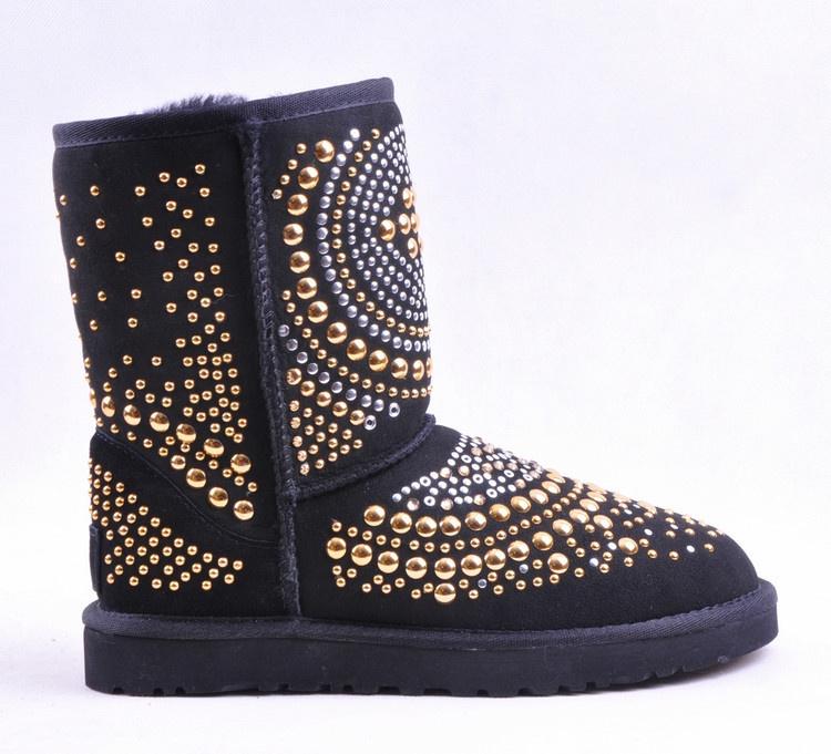 Ugg Jimmy Choo Mandah Boots 3042 Black Uggyi00000098