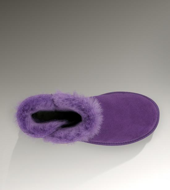 3a0637a88c5 UGG Mini Bailey Button Boots 3352 Purple [uggzm00000074-Purple] - CA ...