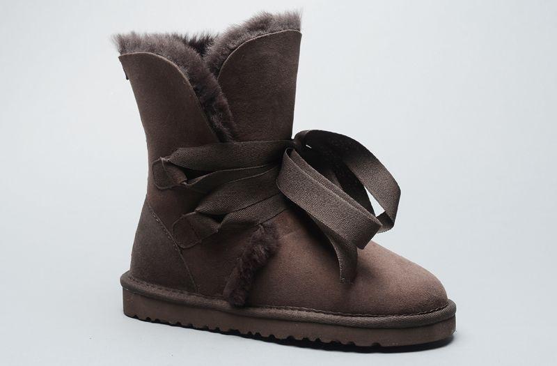 71485075d79 UGG Classic Roxy Short Bandage 1005828 Boots Chocolate ...