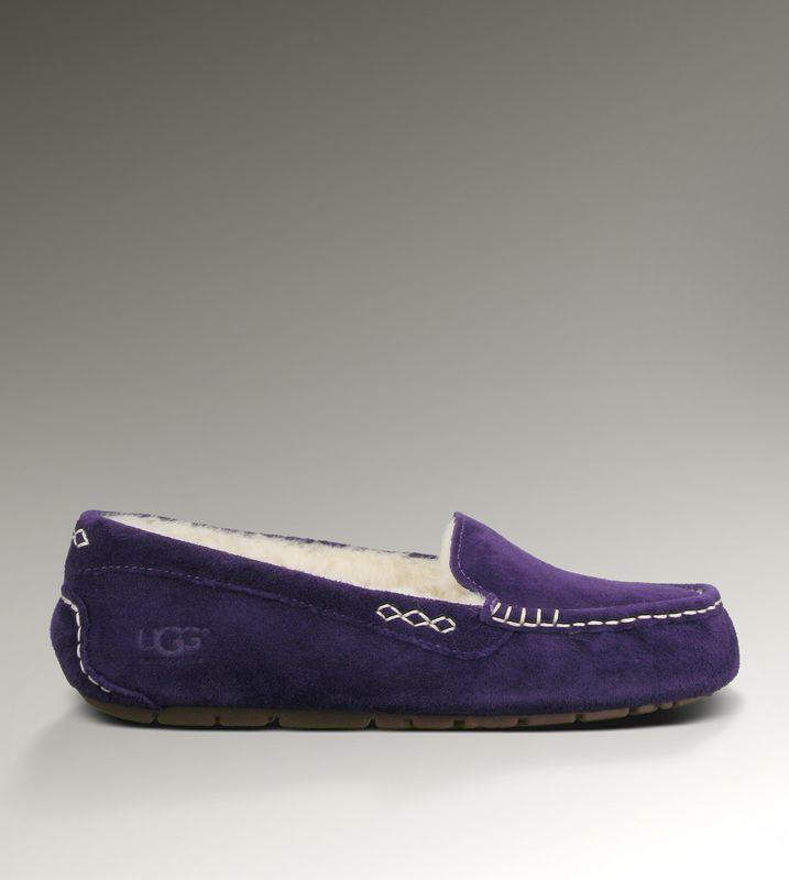 eb5ea2f9339 UGG Ansley 3312 Slippers Dark Purple [uggzm00000040-Dark] - CA ...